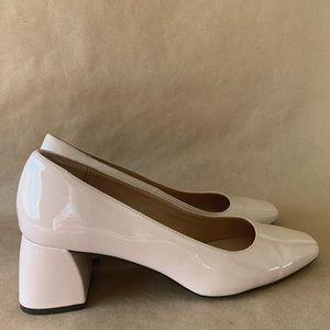 Zara trafaluc block heels size 41